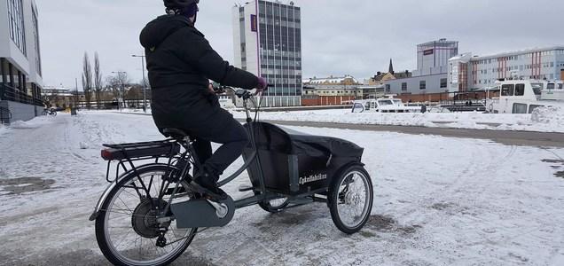 Vi börjar säsongen med leverans av en trehjulig Amii