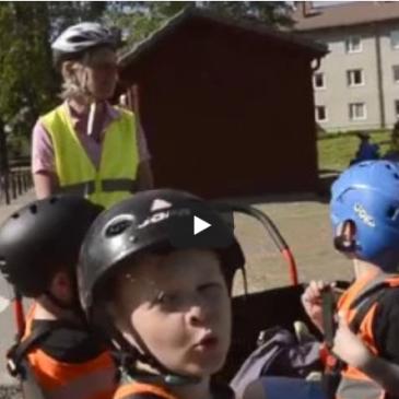Film om Munkfors kommuns förskolecyklar