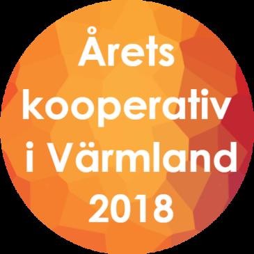 Bulten Bike är Årets kooperativ i Värmland 2018