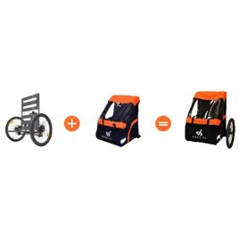 Hyra AddBike + Carry'Box Kid/Dog (2-5 dagar)