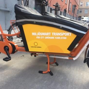För fler miljövänliga transporter i Karlstad