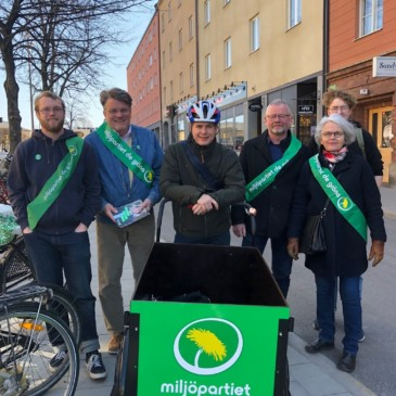 Rätt cykel till valkampanj