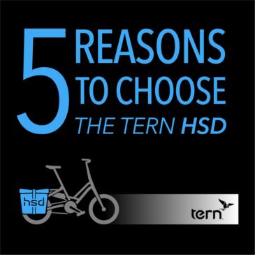 5 anledningar att köpa en Tern HSD