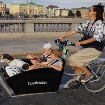 Rea på Cykelfabriken Bakfiets XL