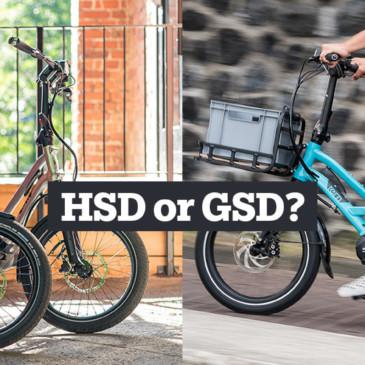 Jämför Tern GSD med Tern HSD