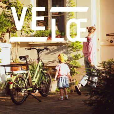 Kompakt & välutrustat familjecykel