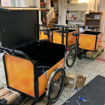 Cyklar på gång till förskolor