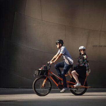 Ny familjecykel från Yuba: Kombi E5