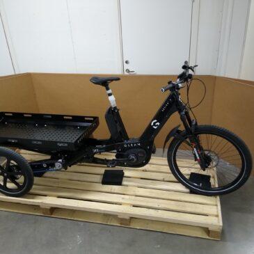 Gleam – Multi-Use-Cargo-Bike