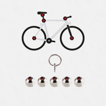 Hexlox – skruvlås för hjul, sadel & axlar