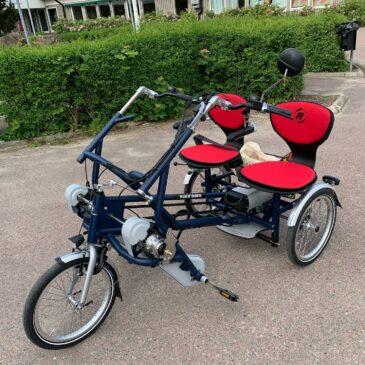 Speciell leverans av speciella cyklar
