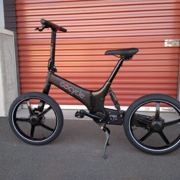 Nu är den här: Gocycle G4