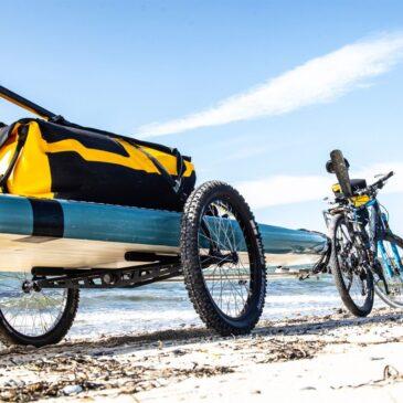 Hinterher H2O – när kajak, SUP, surfboard eller kanu ska med bakom cykeln