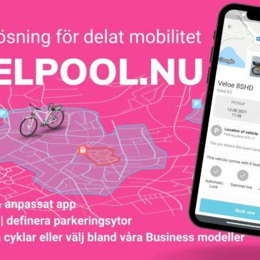 Komplettlösning för bikesharing & cykelpool